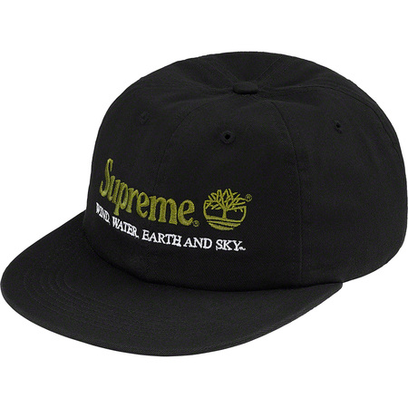Supreme®/Timberland® 6-Panel (Black)