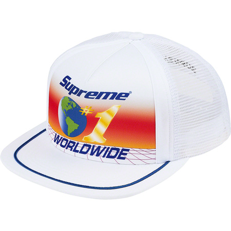 Worldwide Mesh Back 5-Panel (White)
