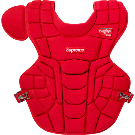 Supreme®/Rawlings® Catcher's Chest Protector (Red)