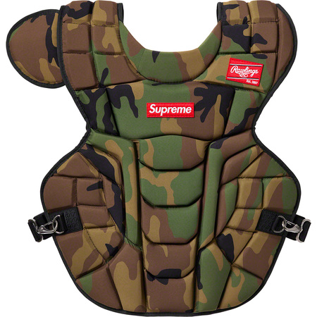 Supreme®/Rawlings® Catcher's Chest Protector (Woodland Camo)