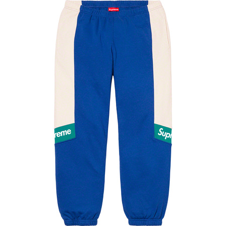 Color Blocked Sweatpant (Royal)