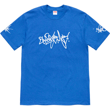 Rammellzee Tag Tee (Royal)