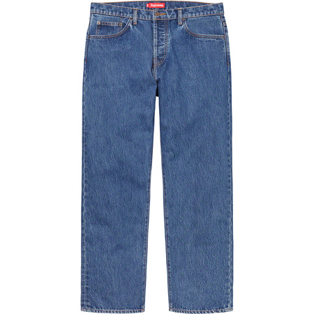 Loose Fit Jean (Washed Blue)