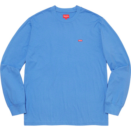 Small Box L/S Tee (Light Royal)