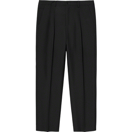 Pleated Trouser (Black)