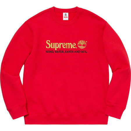 Supreme®/Timberland® Crewneck (Red)