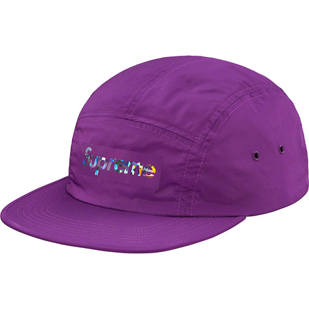 Holographic Logo Camp Cap (Purple)