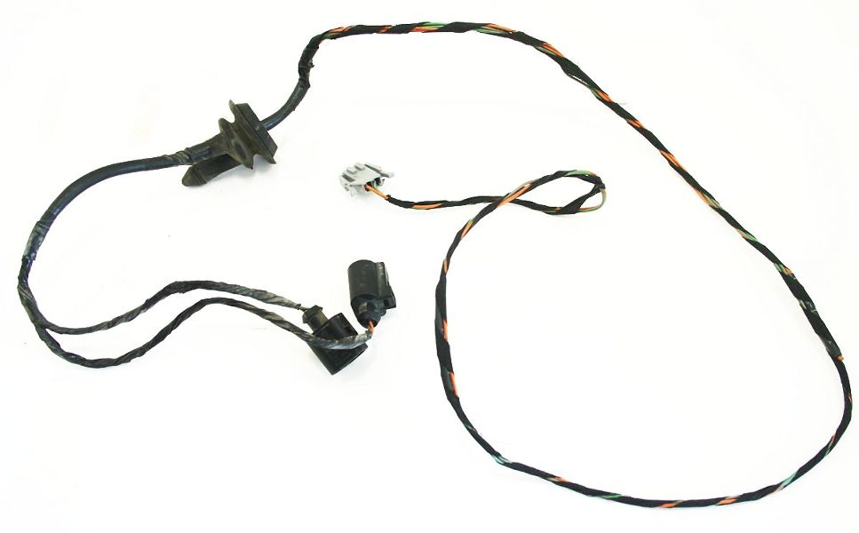 Rear Bumper Light Wiring Harness Plugs 99-02 VW Cabrio MK3