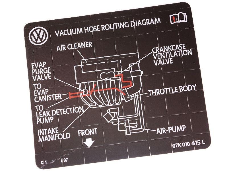 Audi A4 Vacuum Hose Diagram