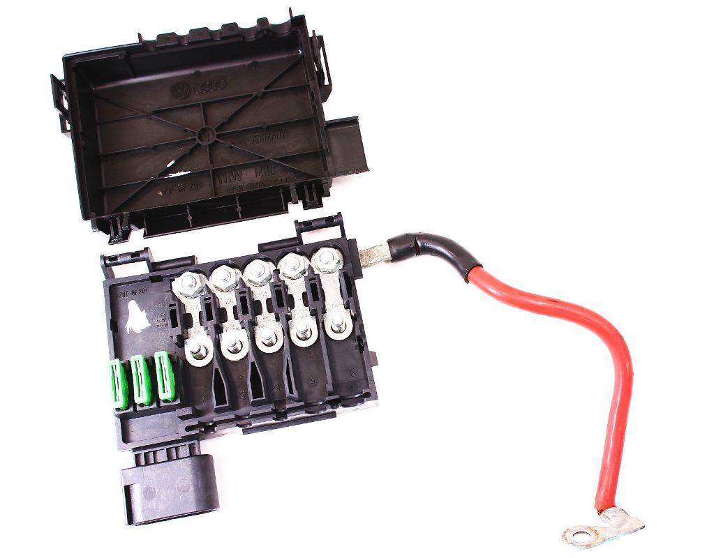 hight resolution of battery distribution block vw jetta golf gti mk4 beetle fuse box genuine oe