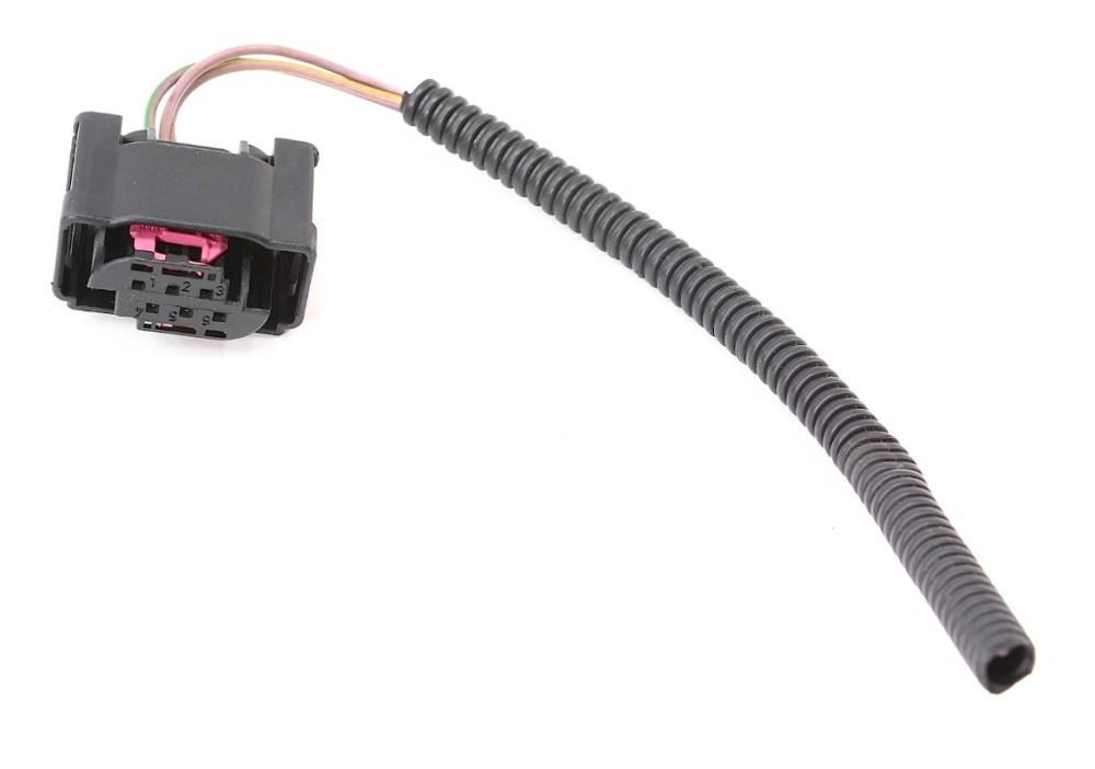 medium resolution of lh front headlight range plug wiring pigtail audi a6 allroad self level sensor