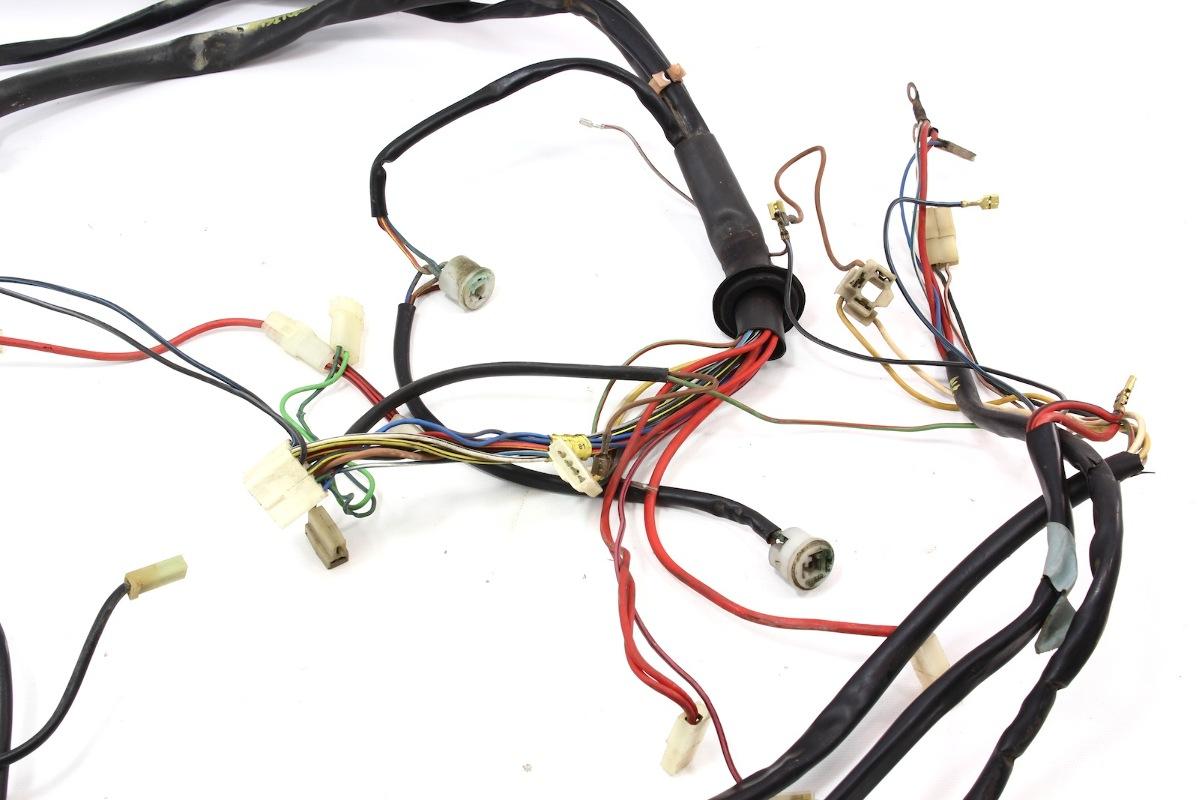 hight resolution of fuse box to engine bay headlights wiring harness 1977 vw rabbit mk1 75 80