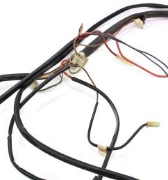 fuse box to engine bay headlights wiring harness 1977 vw rabbit mk1 75 80 [ 1199 x 800 Pixel ]