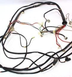 fuse box to engine bay headlights wiring harness 1977 vw rabbit mk1 75 80 [ 1061 x 800 Pixel ]
