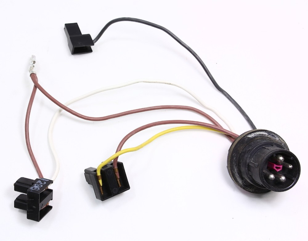 medium resolution of head light bulb internal wiring harness audi a4 b5 96 99 headlight lamp