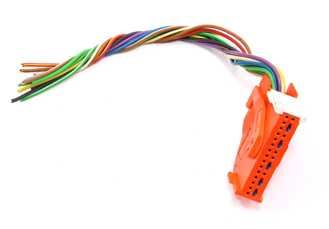 hight resolution of airbag module computer wiring harness plug pigtail 96 98 audi a4 b5 genuine carparts4sale inc