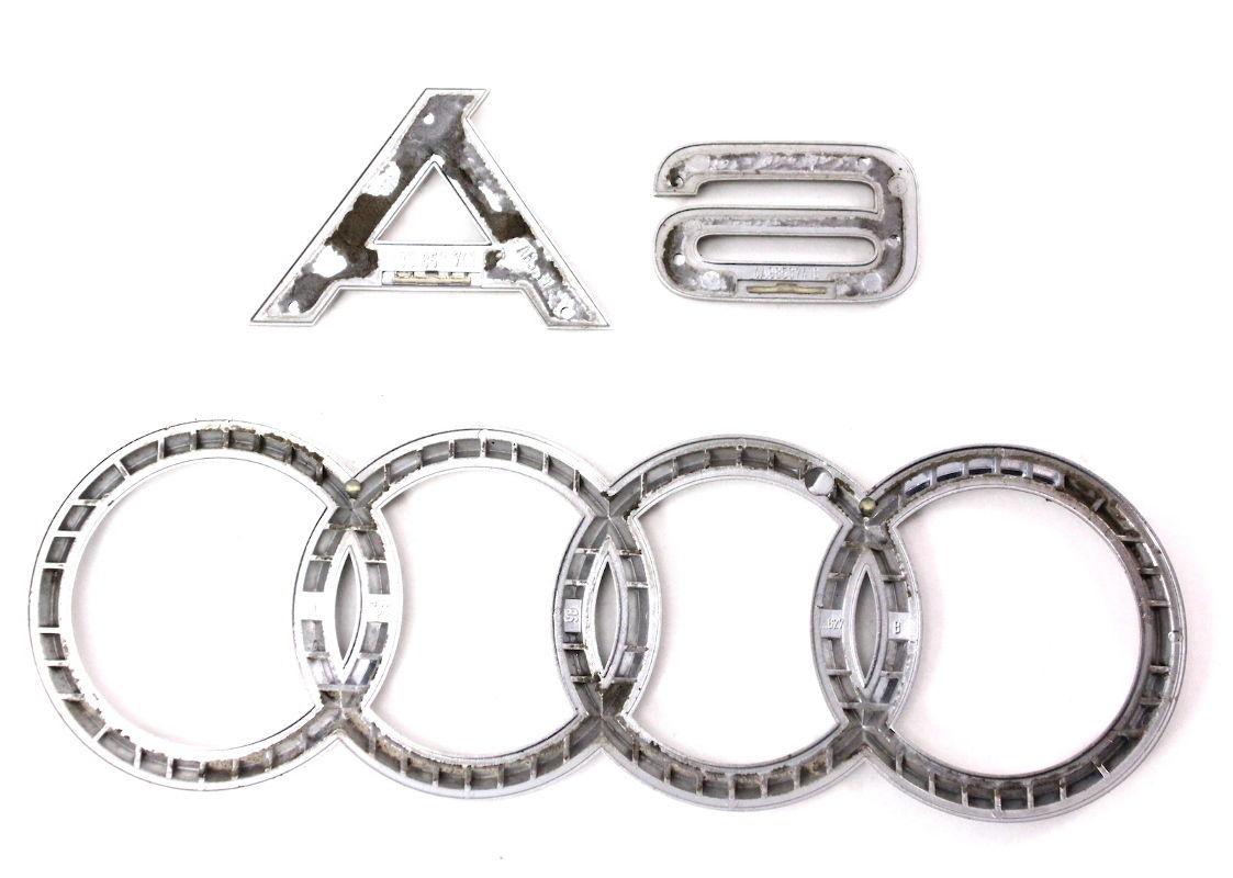 Rear Trunk Emblems Badges 98 04 Audi A6