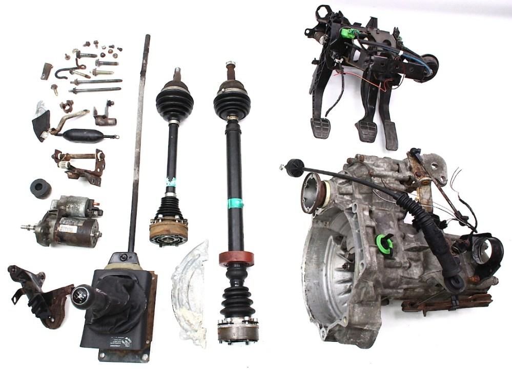 medium resolution of 95 vw cabrio transmission 5 speed
