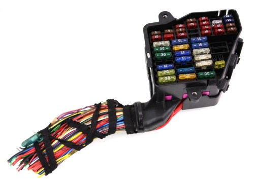small resolution of dash fuse box panel wiring harness pigtail 96 99 audi a4 b5 ebay