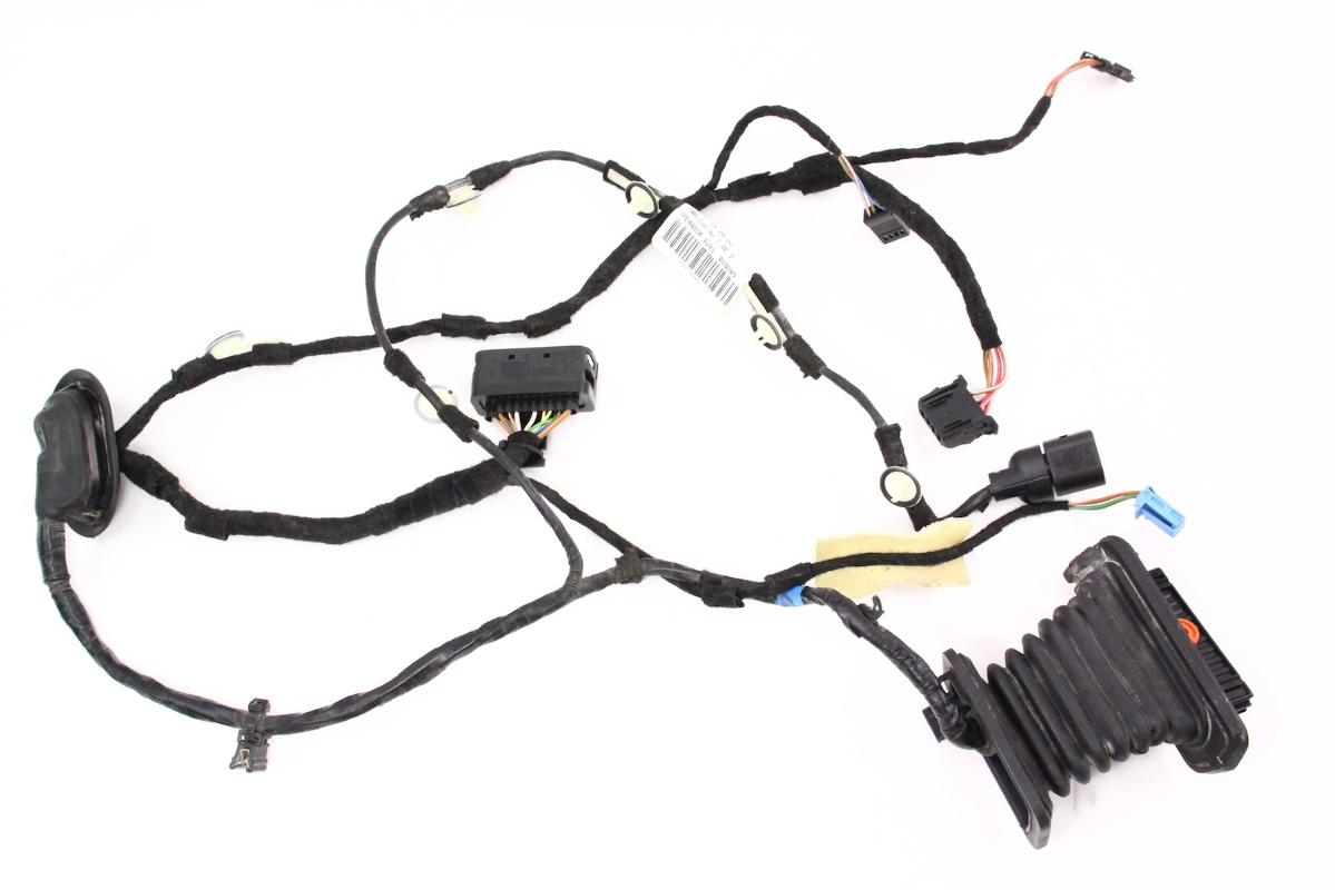 hight resolution of rh rear door wiring harness 05 10 vw jetta mk5 genuine 1k5 971 694 aa carparts4sale inc
