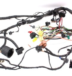 rh front door wiring harness vw jetta golf gti mk4 genuine oe 1j0aba engine swap bay [ 1200 x 703 Pixel ]