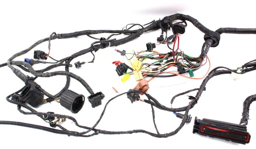 medium resolution of aba engine swap bay wiring harness obd2 9699 vw jetta golf gti mk1