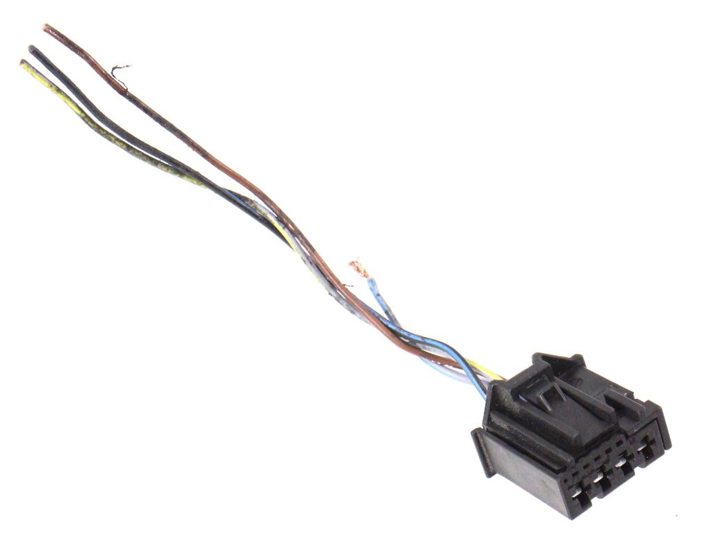LH Inner Tail Light Lamp Plug Pigtail Wiring 04-06 VW