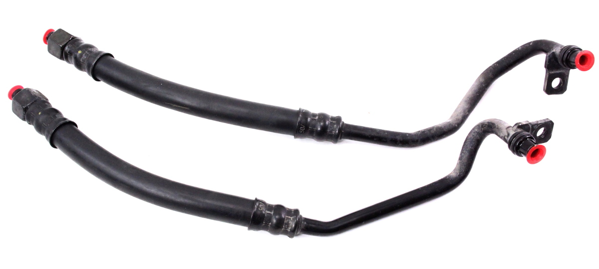 Transmission To Radiator Cooler Lines 06-10 VW Passat B6 3