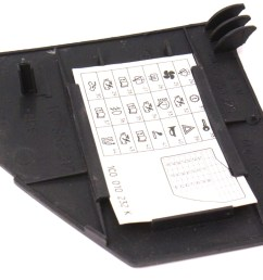 dash end fuse door cover diagram card 98 10 vw beetle 2000 volkswagen beetle radio fuse 2001 vw beetle fuse diagram [ 1200 x 742 Pixel ]