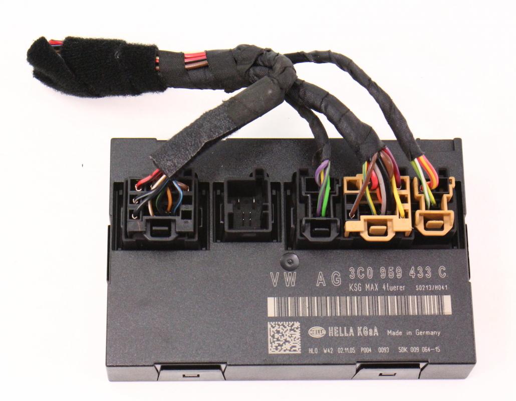 2006 Audi A6 Fuse Box Location Ccm Comfort Control Module Vw Passat 06 10 B6 Genuine