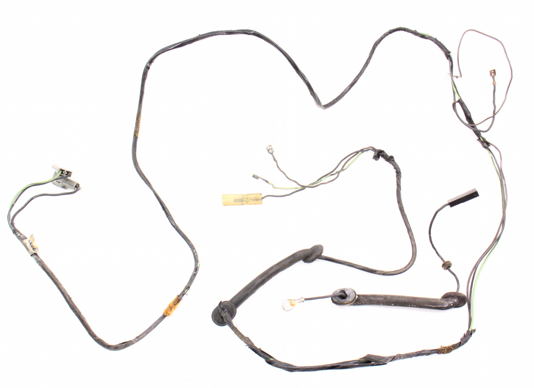 Hatch Wiring Harness 81 84 Vw Rabbit Mk1