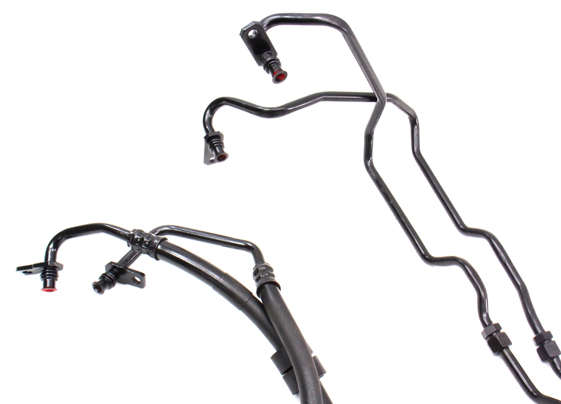 Auto Transmission Fluid Cooler Oil Lines 00-04 Audi A6 C5