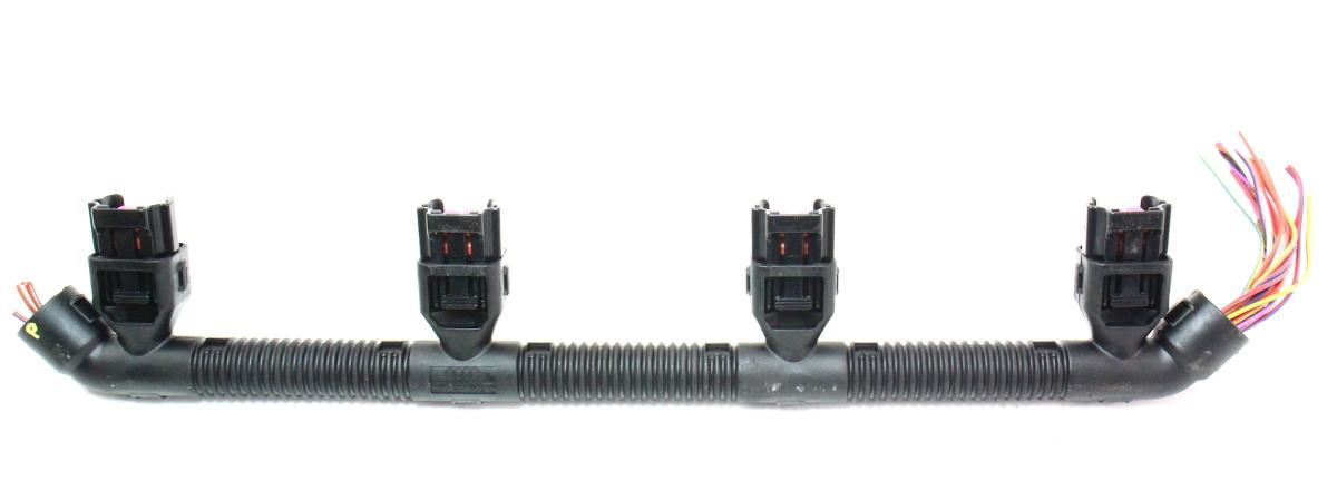 RH Fuel Injector Wiring Plug Pigtail VW Phaeton Audi A6 A8