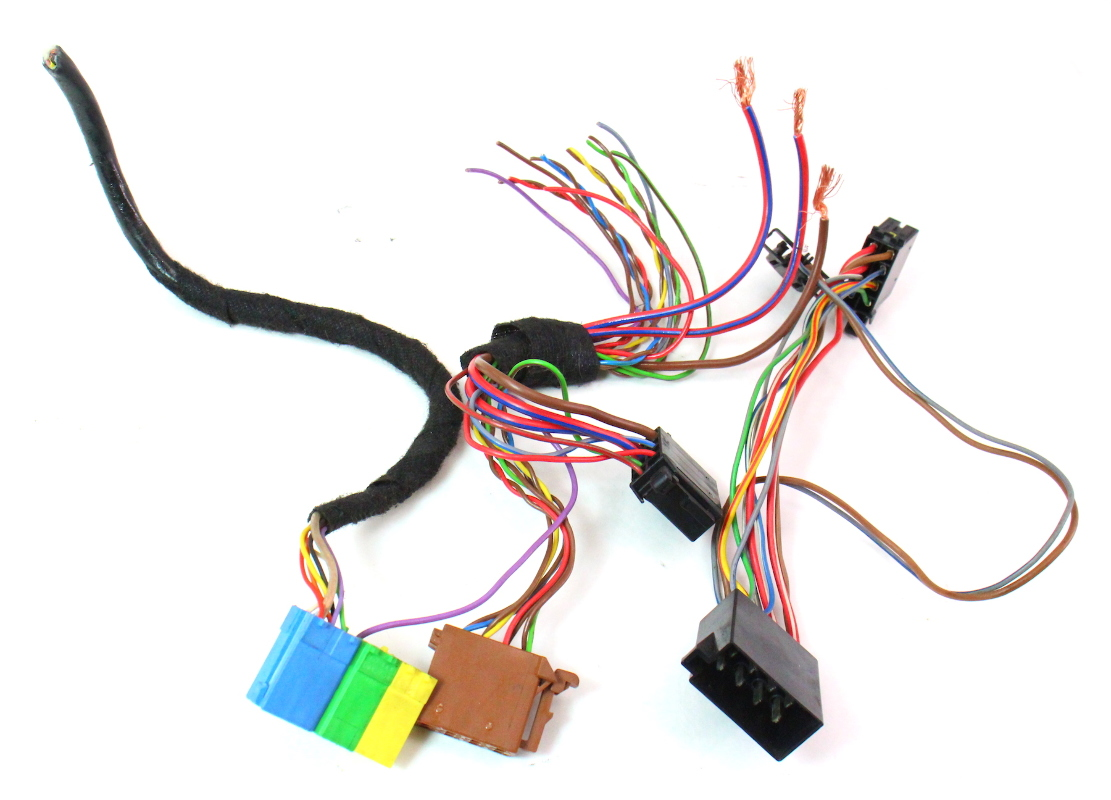 2001 Vw Jetta Radio Wiring Harness