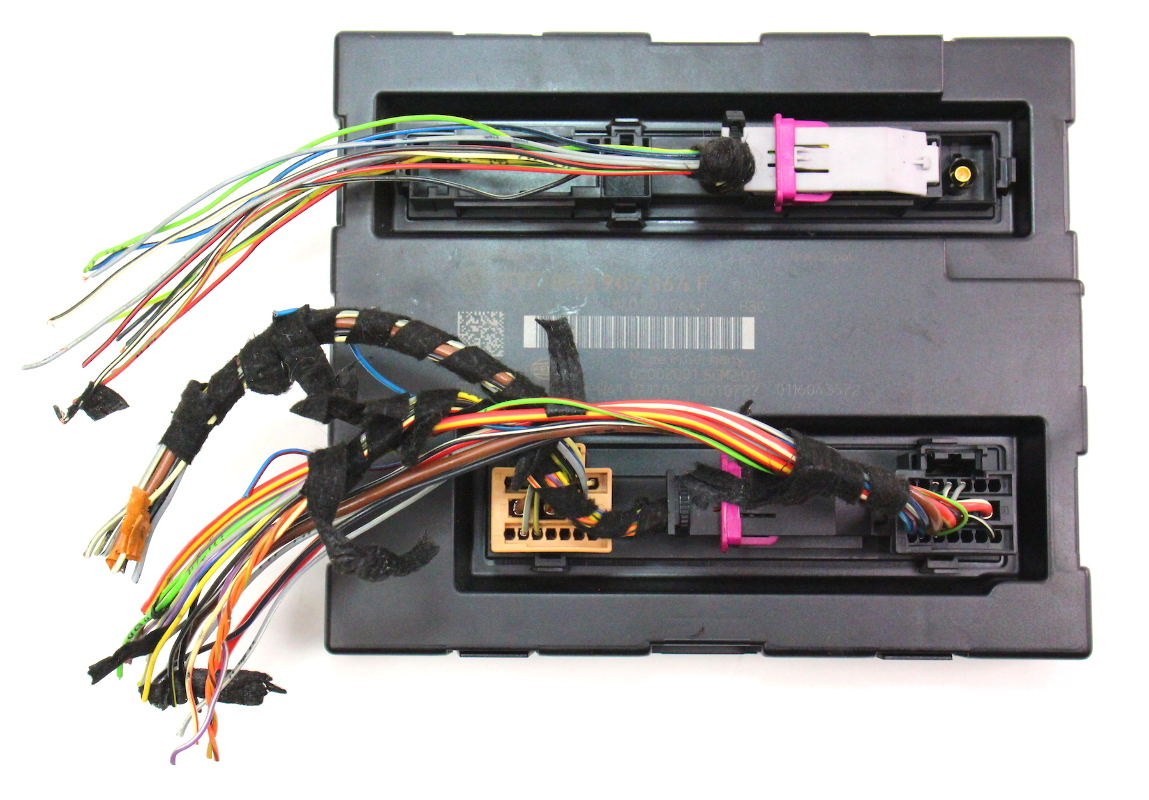 vw passat ccm wiring diagram jeep wrangler trailer bcm comfort body module 09 12 audi a4 b8 genuine