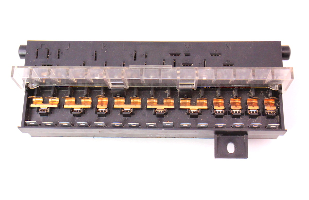 hight resolution of fuse box relay panel 75 80 vw rabbit scirocco early mk1 vw caddy mk1 fuse box