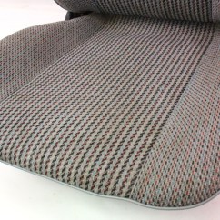 Grey Bucket Chair Small Wingback Slipcover Rh Front Seat Captains 80 91 Vw Vanagon