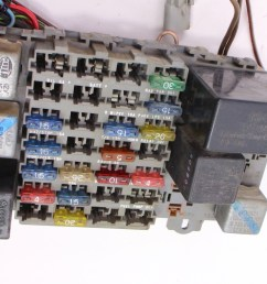 dash interior wiring harness fuse box 81 84 vw rabbit [ 1200 x 790 Pixel ]