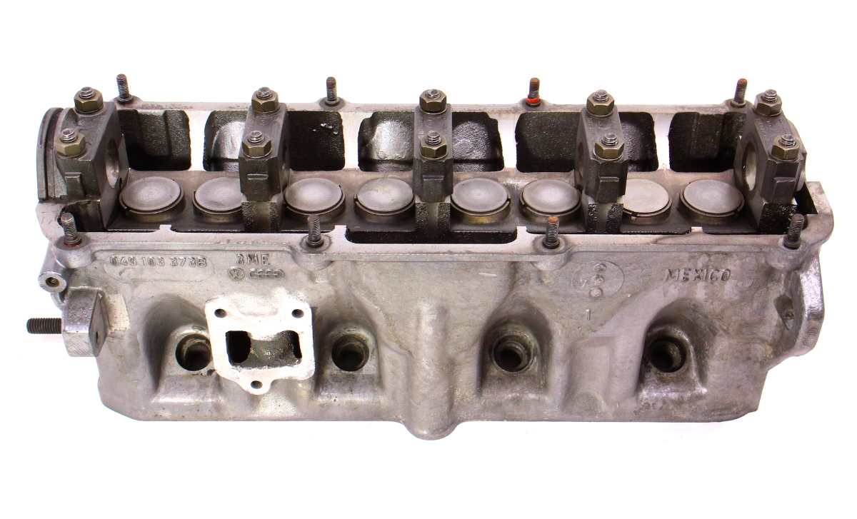 hight resolution of cylinder head 1 6 1 7 gas fi vw jetta rabbit scirocco mk1 quantum 049 103 373 b carparts4sale inc