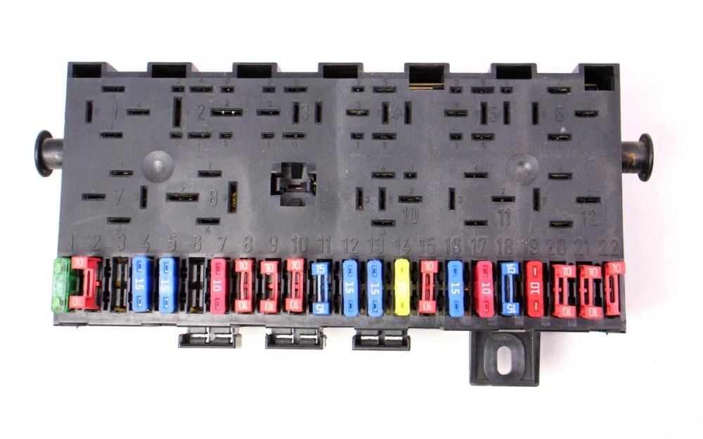 medium resolution of fuse box fuse block fusebox 85 92 vw jetta golf gti mk2 genuine 171 941 813 d carparts4sale inc