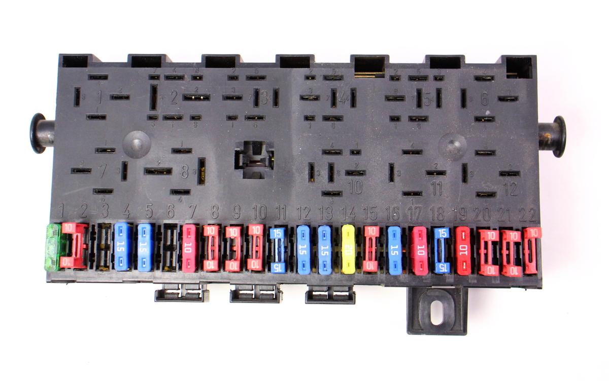 hight resolution of fuse box fuse block fusebox 85 92 vw jetta golf gti mk2 genuine 171 941 813 d carparts4sale inc
