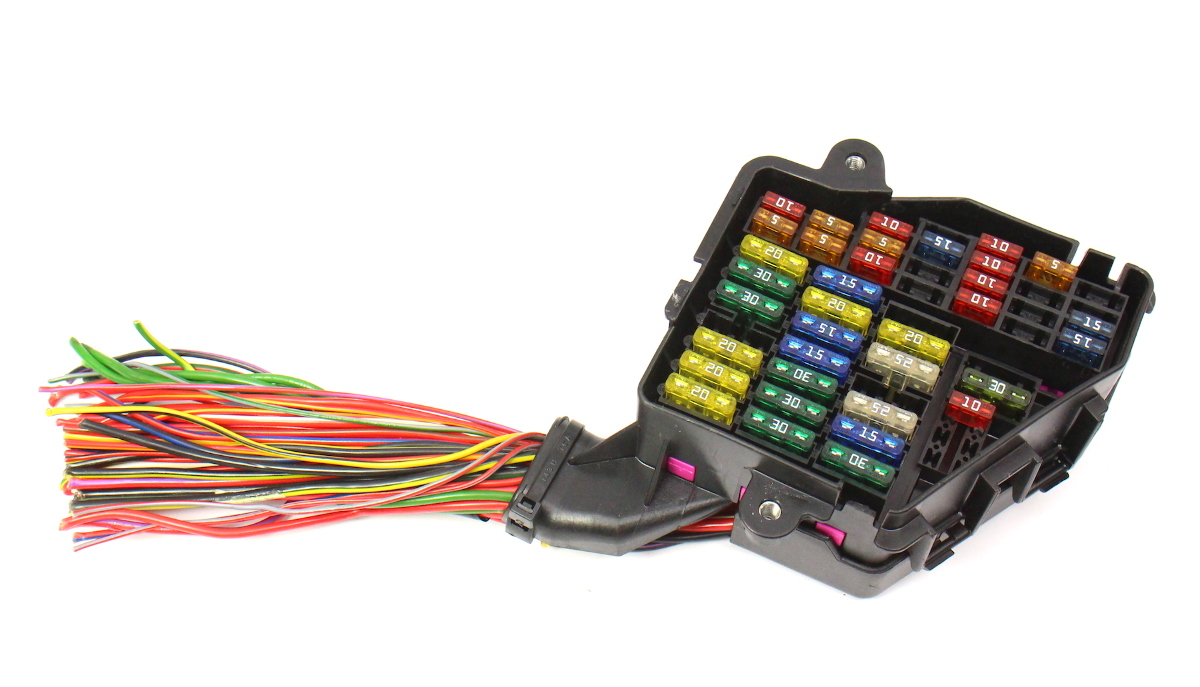 hight resolution of dash fuse box panel wiring harness pigtail 02 05 audi a4 b6 genuine carparts4sale inc