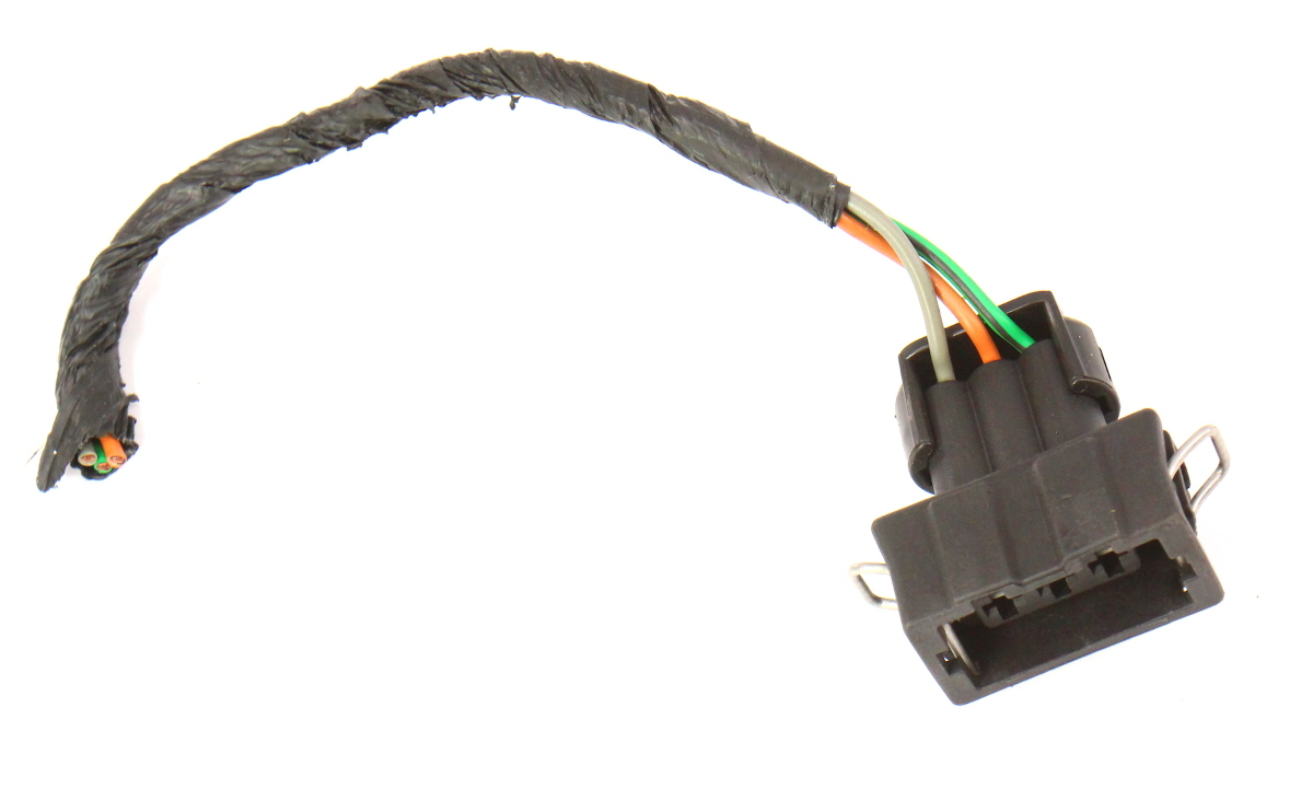 hight resolution of bumper light turn signal wiring harness plug pigtail 93 99 vw jetta golf mk3 carparts4sale inc