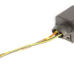 2 pin pigtail wiring harness plug vw audi jetta golf gti mk6 passat 1k0 973 722  [ 1200 x 771 Pixel ]