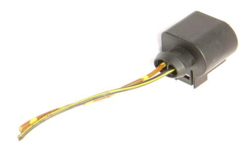 small resolution of  2 pin pigtail wiring harness plug vw audi jetta golf gti mk6 passat 1k0 973 722