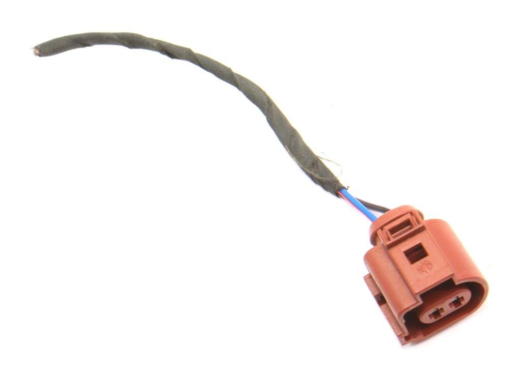 medium resolution of 2 pin pigtail wiring harness plug vw audi jetta golf gti mk6 eos 3b0 973 722 a carparts4sale inc
