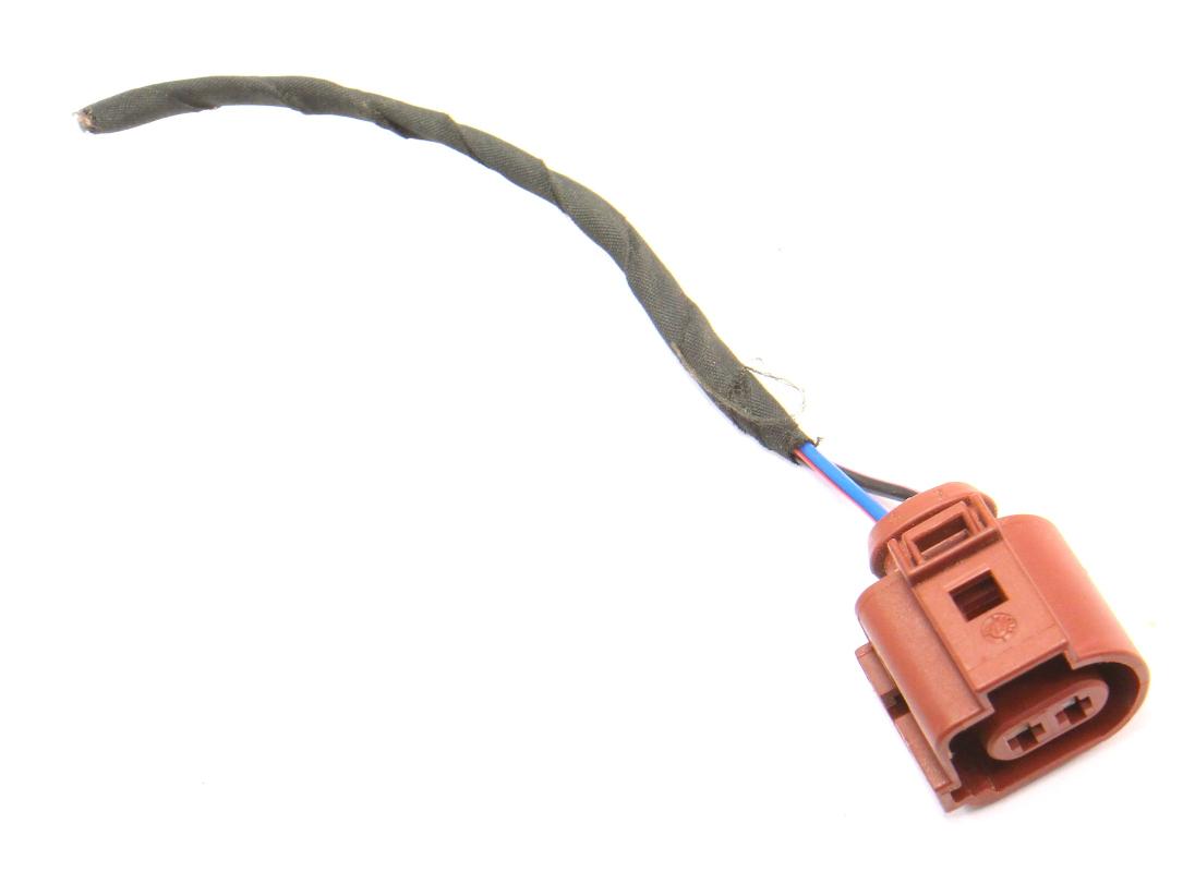 hight resolution of 2 pin pigtail wiring harness plug vw audi jetta golf gti mk6 eos 3b0 973 722 a carparts4sale inc