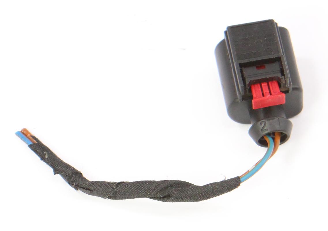 hight resolution of  2 pin pigtail wiring harness plug vw audi jetta golf gti mk6 eos 8k0 973