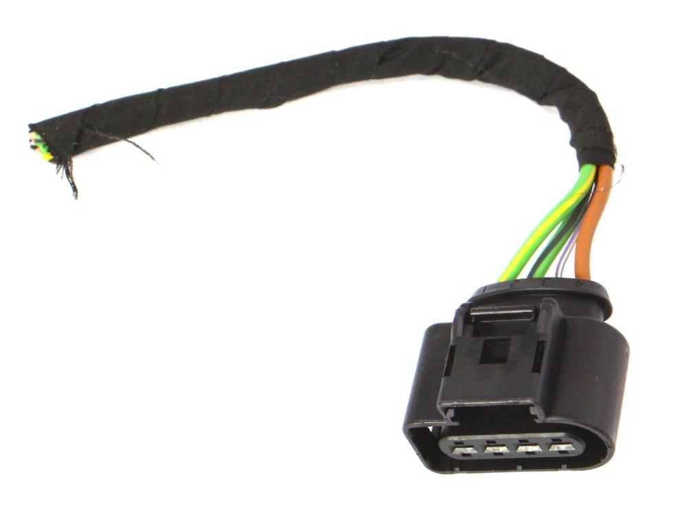 medium resolution of wiper motor wiring harness plug pigtail 11 18 vw jetta mk6 sedan 8k0 973 724 carparts4sale inc