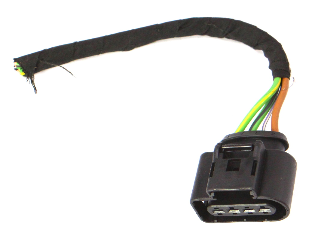 hight resolution of wiper motor wiring harness plug pigtail 11 18 vw jetta mk6 sedan 8k0 973 724 carparts4sale inc